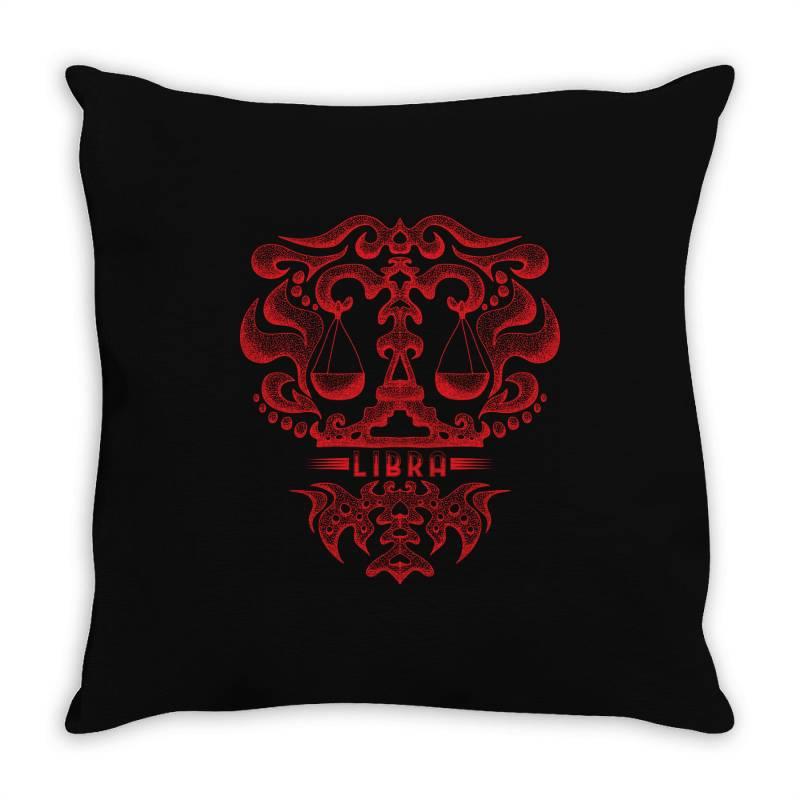 Libra Throw Pillow   Artistshot