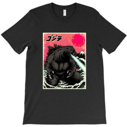 Gojira Kanagawa T-shirt Designed By Sober Artwerk