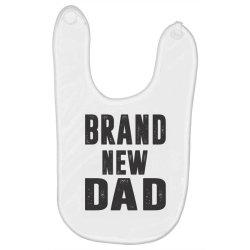 Brand New Dad Baby Bibs   Artistshot