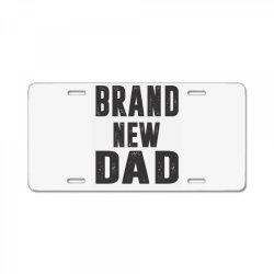 Brand New Dad License Plate | Artistshot
