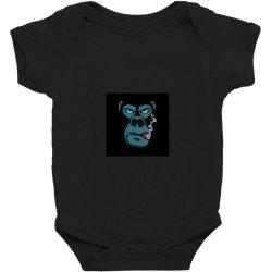Angry Monkey Baby Bodysuit | Artistshot