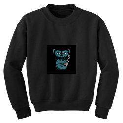 Angry Monkey Youth Sweatshirt | Artistshot