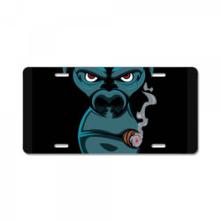Angry Monkey License Plate | Artistshot