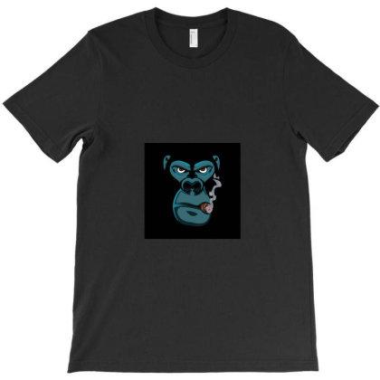 Angry Monkey T-shirt Designed By Mansuri
