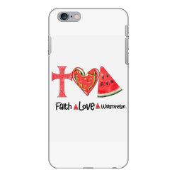Faith Love Watermelon iPhone 6 Plus/6s Plus Case | Artistshot