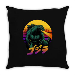 godzilla Throw Pillow | Artistshot