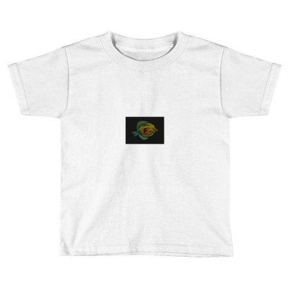 Exclusive Fish Vector Art Toddler T-shirt Designed By Chiks