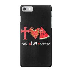 Faith Love Watermelon iPhone 7 Case | Artistshot