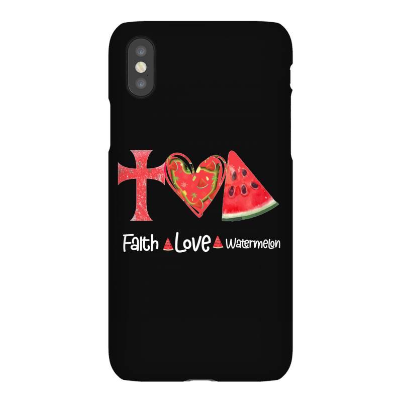 Faith Love Watermelon Iphonex Case | Artistshot