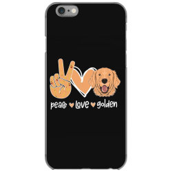 Peace Love Golden iPhone 6/6s Case | Artistshot