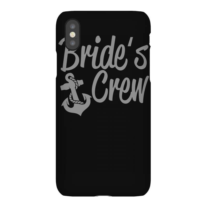Bride's Crew Cute Anchor Iphonex Case | Artistshot