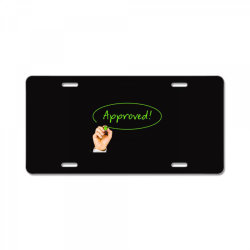 Approved License Plate | Artistshot