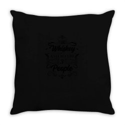Whiskey, water of life, malt Throw Pillow | Artistshot