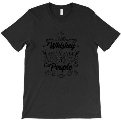 Whiskey, Water Of Life, Malt T-shirt Designed By Cuser2870