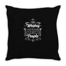 Whiskey, peat, single malt Throw Pillow | Artistshot