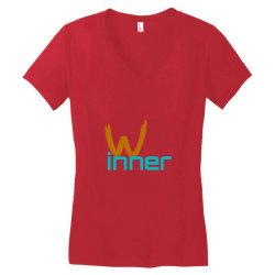 Winner Women's V-Neck T-Shirt | Artistshot
