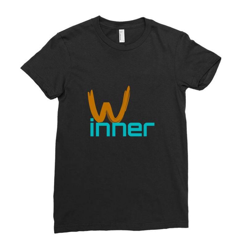 Winner Ladies Fitted T-shirt | Artistshot