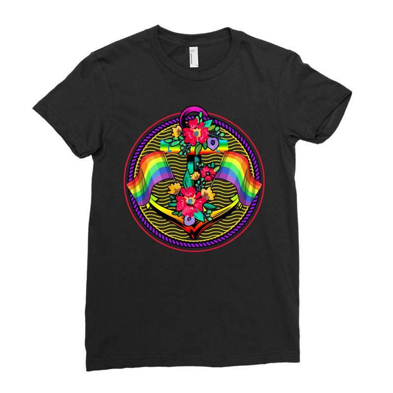 Sailor Lgbt Ladies Fitted T-shirt | Artistshot