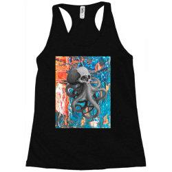 skullsquid abstract classic t shirt Racerback Tank | Artistshot