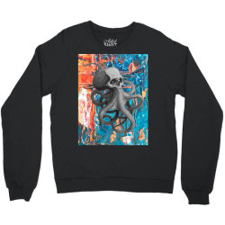 skullsquid abstract classic t shirt Crewneck Sweatshirt   Artistshot