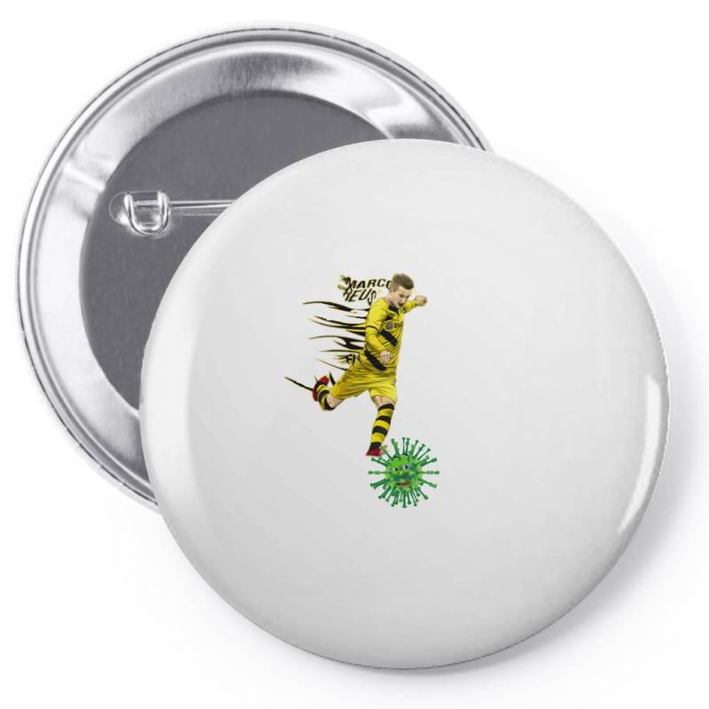 Hit Corona Pin-back Button | Artistshot