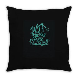 Whiskey, water of life, peat Throw Pillow | Artistshot