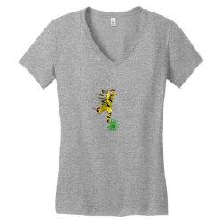Hit Corona Women's V-Neck T-Shirt | Artistshot