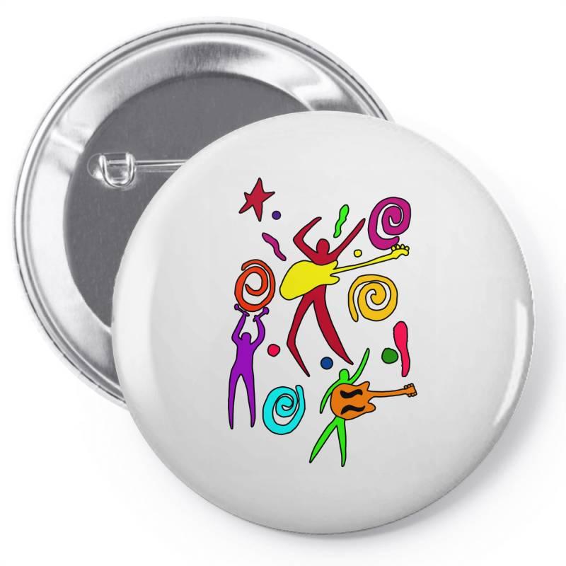 Rock N Roll Classic T Shirt Pin-back Button | Artistshot