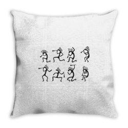 People Throw Pillow   Artistshot