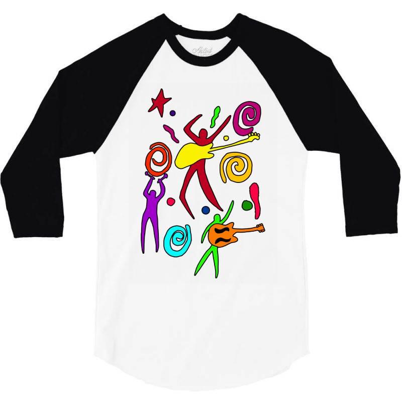 Rock N Roll Classic T Shirt 3/4 Sleeve Shirt | Artistshot