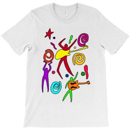 Rock N Roll Classic T Shirt T-shirt Designed By Blackstars