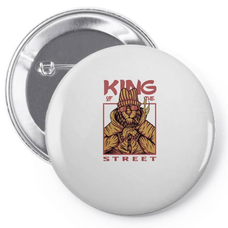 King Of The Street Pin-back Button | Artistshot