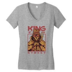 King of the street Women's V-Neck T-Shirt | Artistshot