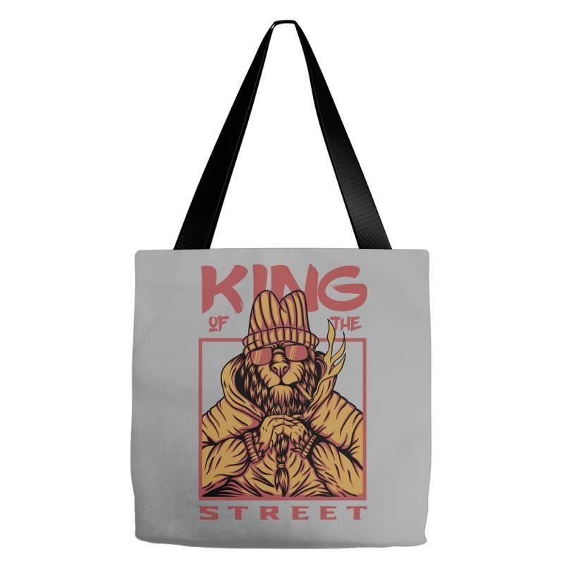 King Of The Street Tote Bags | Artistshot