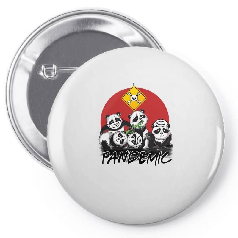 Pandemic Pin-back Button   Artistshot
