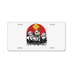 pandemic License Plate | Artistshot