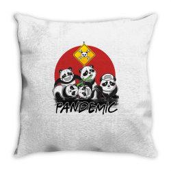 pandemic Throw Pillow | Artistshot