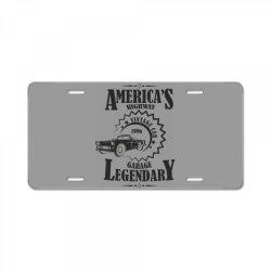 American's higway garage legendary License Plate | Artistshot