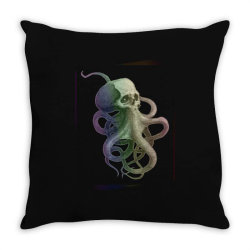 skullsquid rainbow classic t shirt Throw Pillow   Artistshot