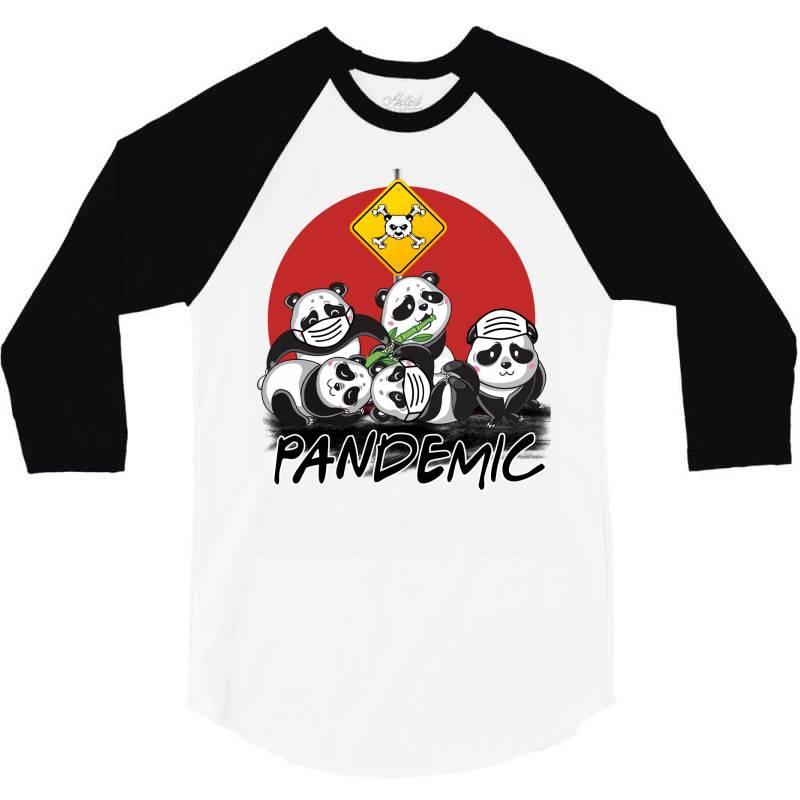 Pandemic 3/4 Sleeve Shirt | Artistshot