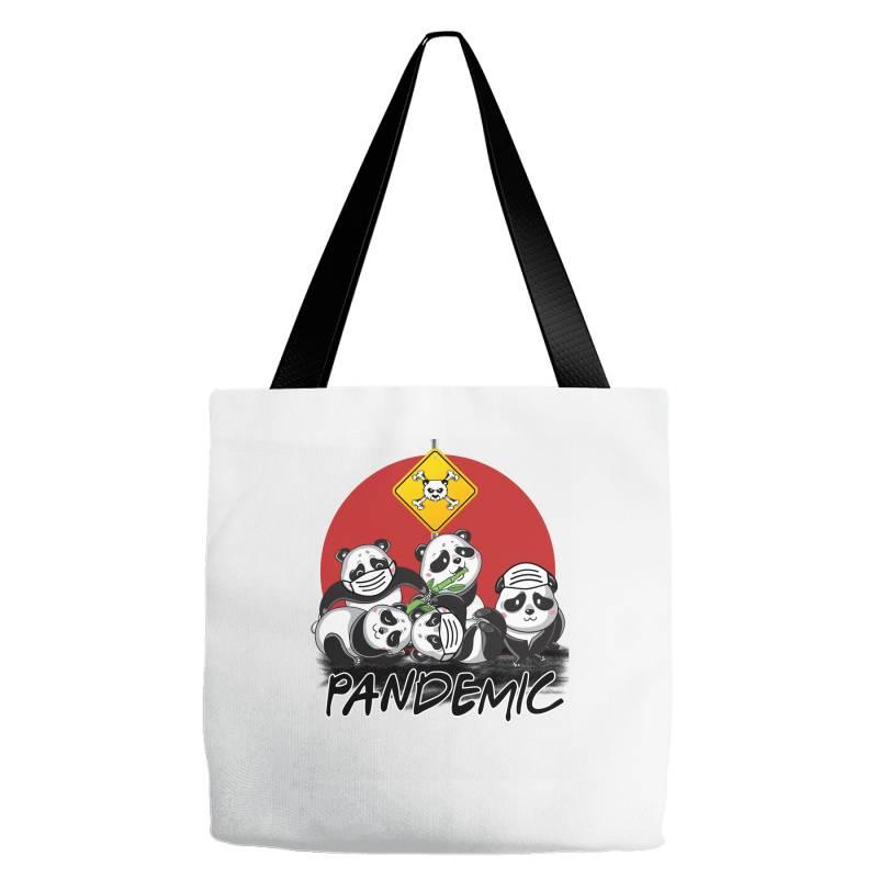 Pandemic Tote Bags | Artistshot