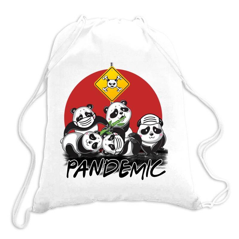Pandemic Drawstring Bags | Artistshot