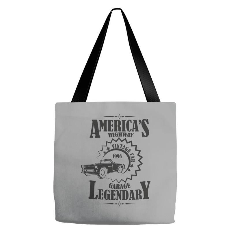 American's Higway Garage Legendary Tote Bags | Artistshot