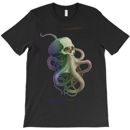 Skullsquid Rainbow Classic T Shirt T-shirt Designed By Blackstars