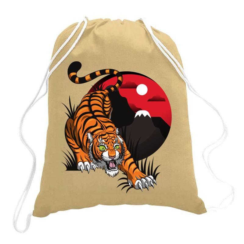 Tiger Drawstring Bags | Artistshot