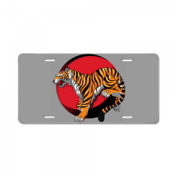 Tiger License Plate | Artistshot