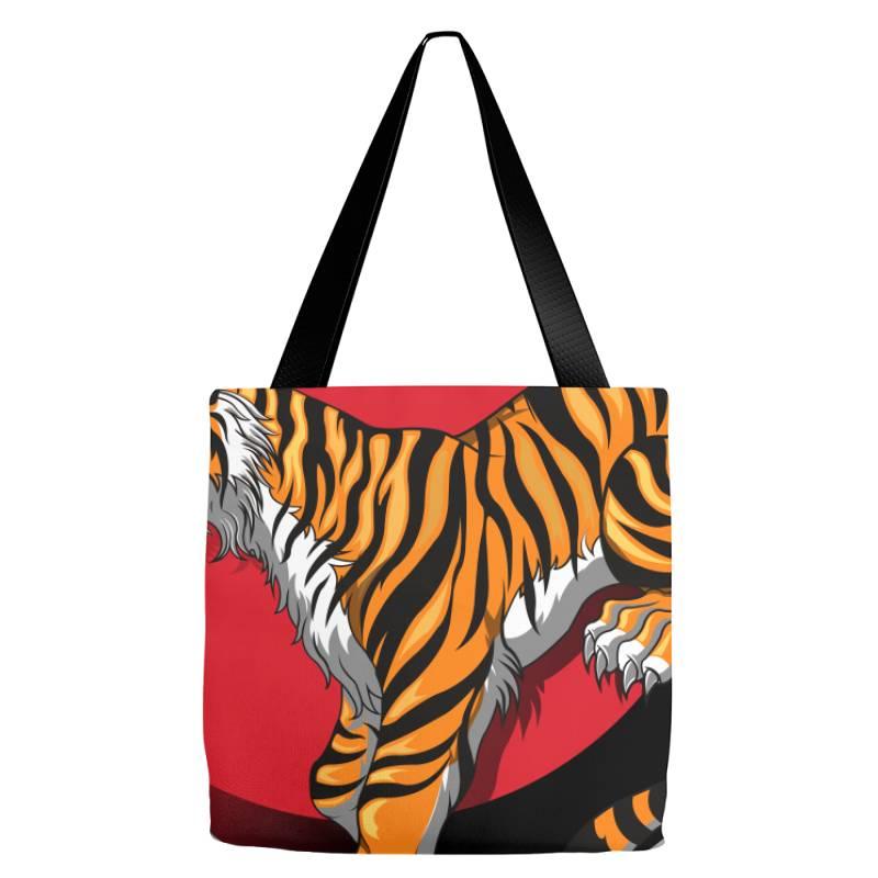 Tiger Tote Bags | Artistshot