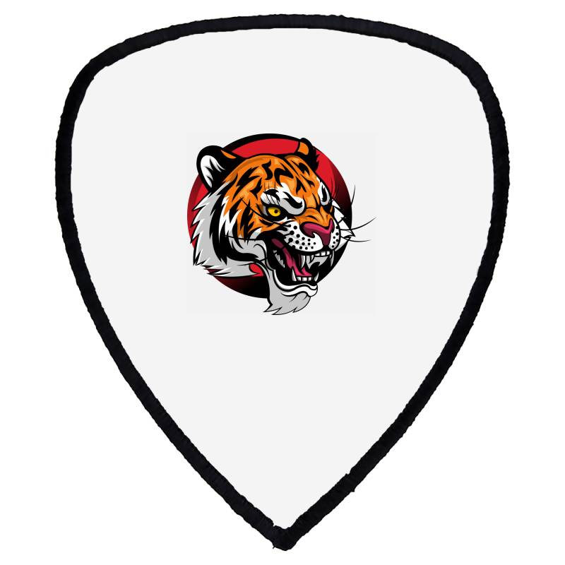 Tiger Shield S Patch | Artistshot