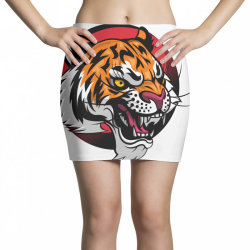 Tiger Mini Skirts | Artistshot