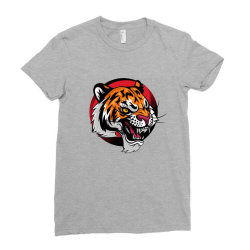 Tiger Ladies Fitted T-Shirt | Artistshot